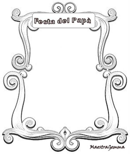 Cornicette Copertine Cornicette Festa Del Papà Home Decor E