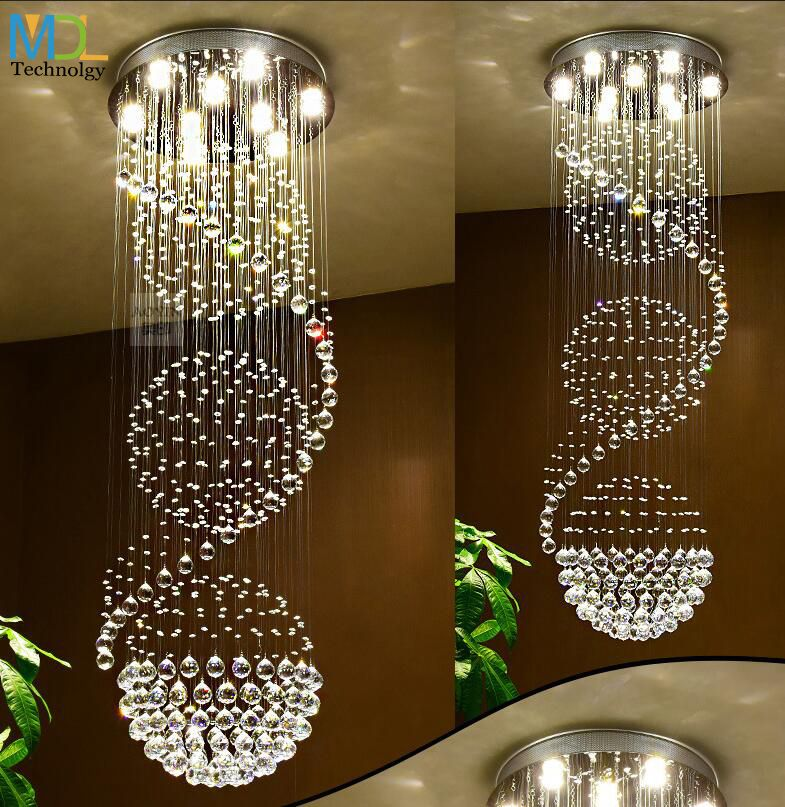 Find More Chandeliers Information About Modern Led Crystal