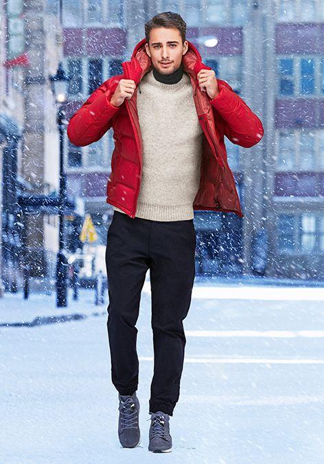55274f300b0ff7 Warm Clothing for Men | Down Jackets | HEATTECH | UNIQLO.com | Men's ...