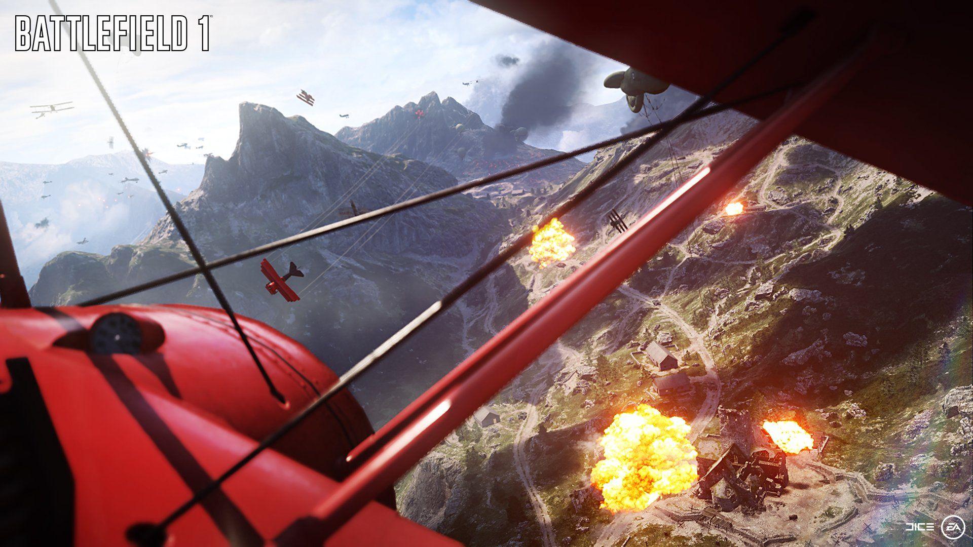Wallpaper Battlefield 1 Ea Dice Shooter Games Videogames