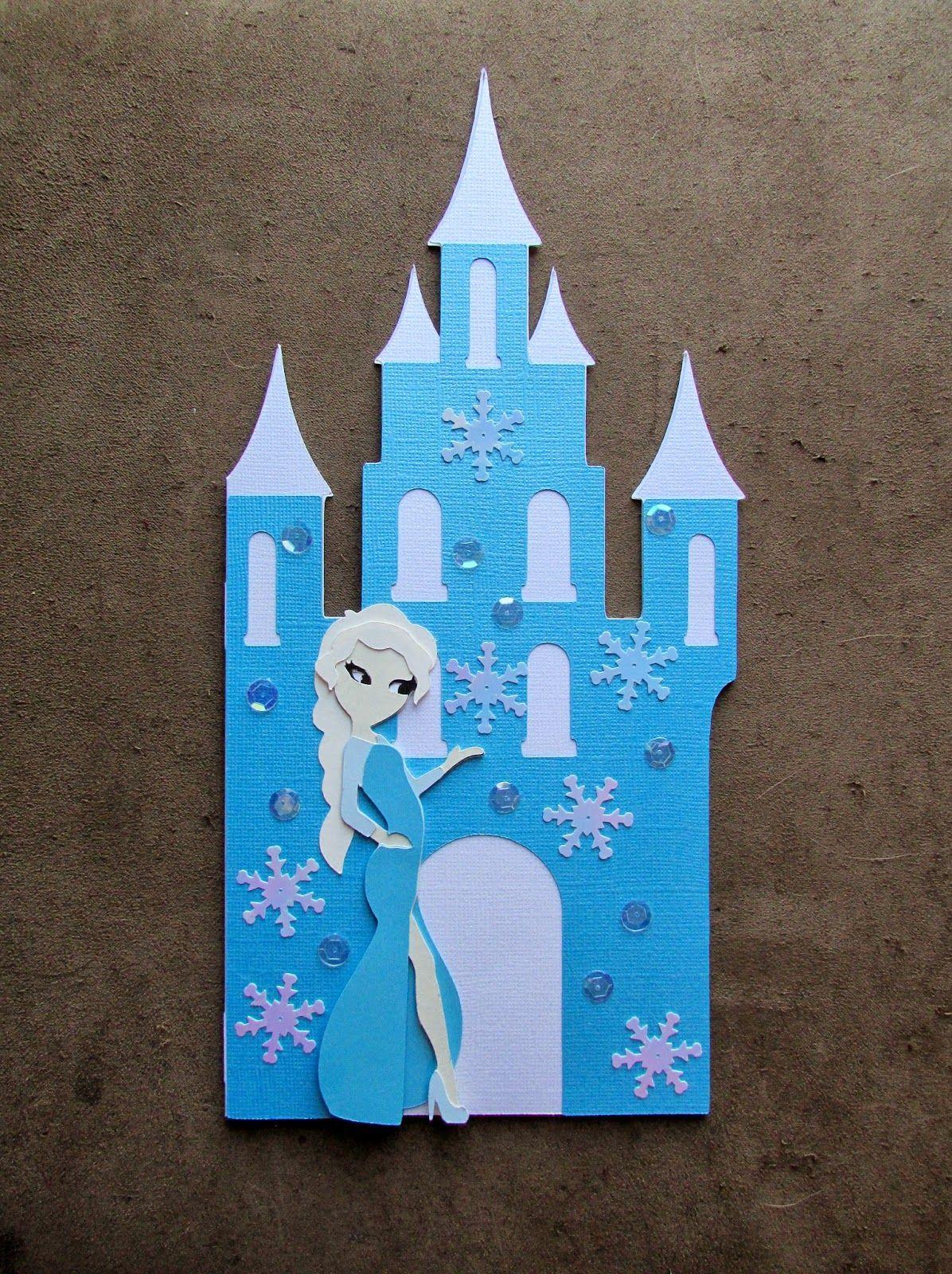 Disney S Frozen Elsa Inspired Birthday Card Girl Birthday Cards Frozen Birthday Cards Frozen Cards