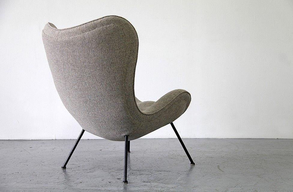 Lounge sessel von fritz neth 1 2 adore modern for Moderne bequeme sessel