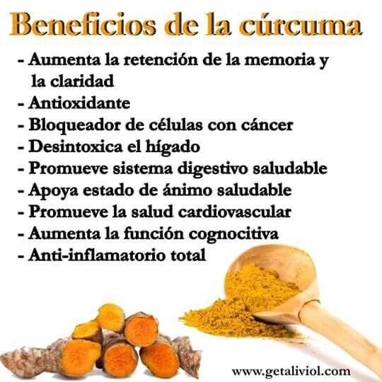 Beneficios De La Cúrcuma Turmeric Curcuma Beneficios Recetas De Comida Fáciles Beneficios