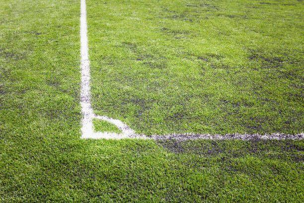Green Grass Texture In Soccer Field Grass Textures Green Grass Grass