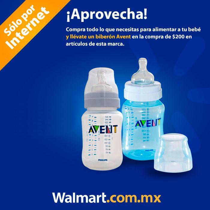 En la compra de $200 en artículos de la marca Avent, te regalamos un biberón Avent. Aprovecha esta gran promoción.