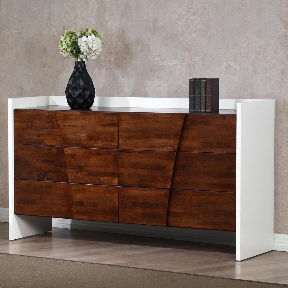 How beautiful is this drawer modern dresser We think its quite