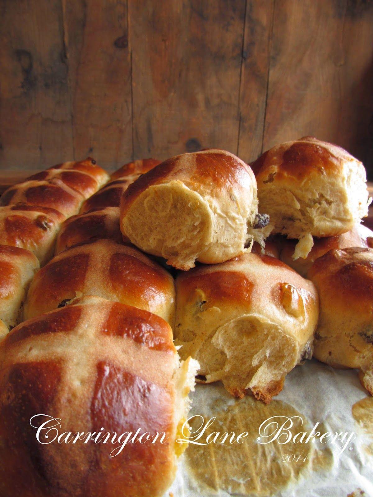 Carrington Lane Bakery: Hot Cross Buns
