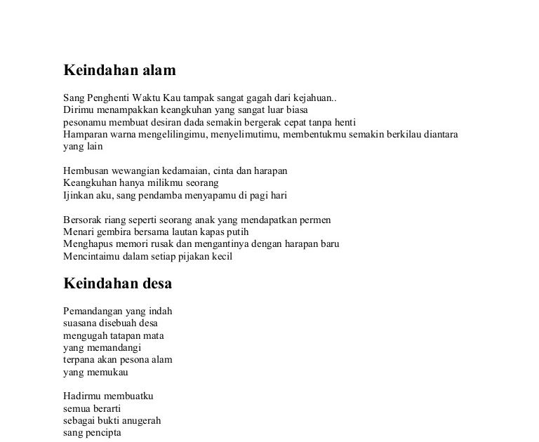 Terbaru 30 Puisi Pemandangan Pagi Hari Keindahan Alam Download Puisi Tentang Pagi Yang Indah Islami Kata Download Puisi Hari I Di 2020 Pemandangan Puisi Sajak