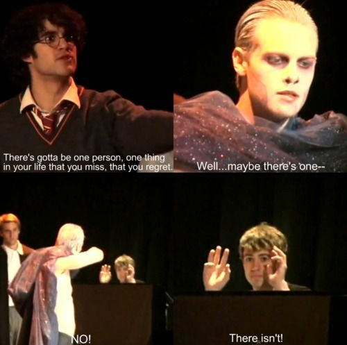 Pin By Wow Someone Actually On Holy Musical Starkid Harry Potter Musical Starkid Very Potter Musical