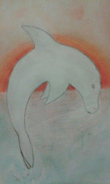 Der Delphin is scheiße, aber der Hintergrund is cool ^^