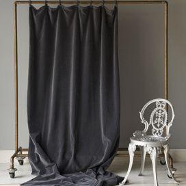 Inspired By Rachel Zoe Chic Velvet Curtain Posh Living Velvet Curtains Curtains Curtains Living Room
