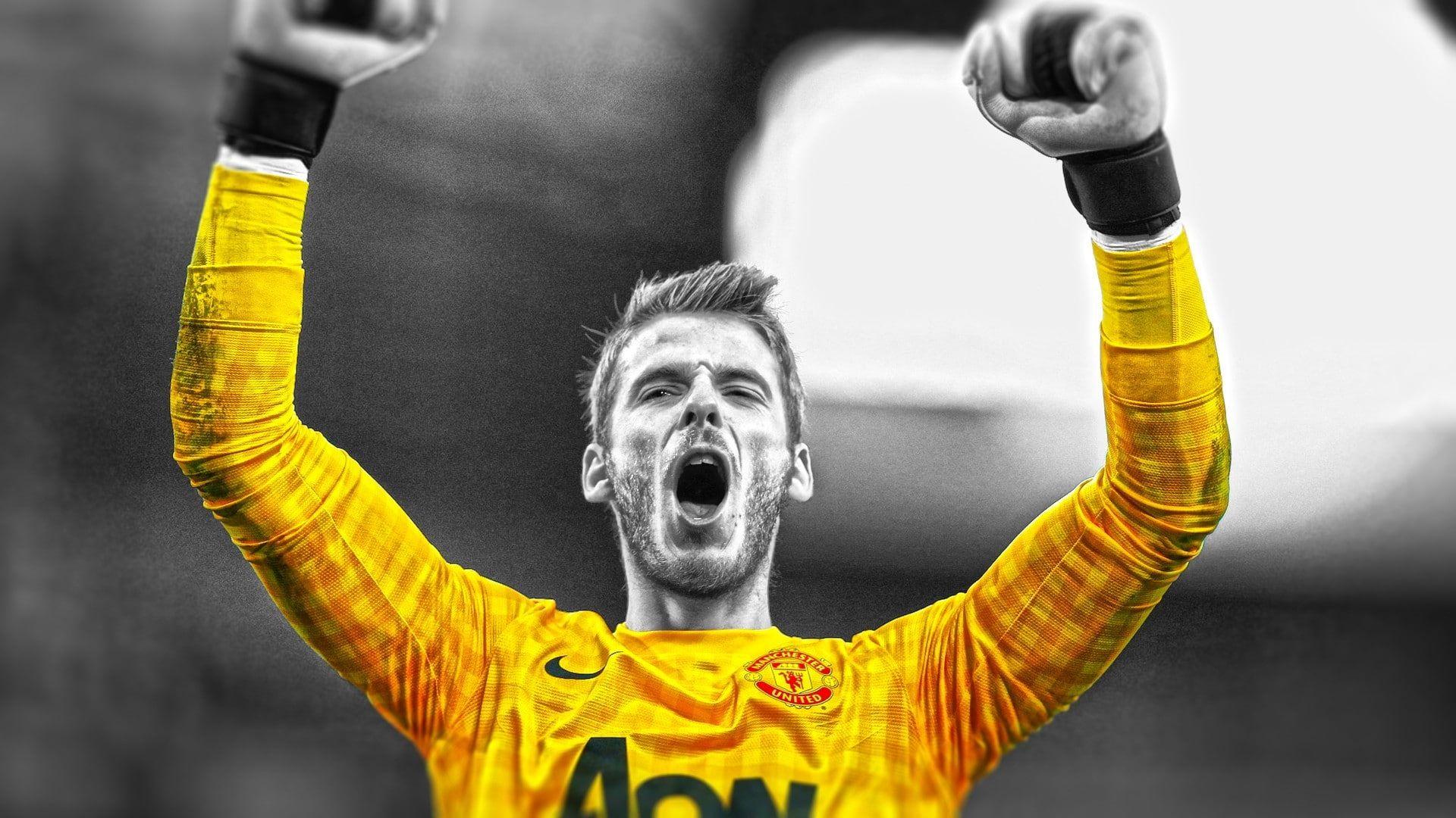 Manchester United David De Gea #1080P #wallpaper