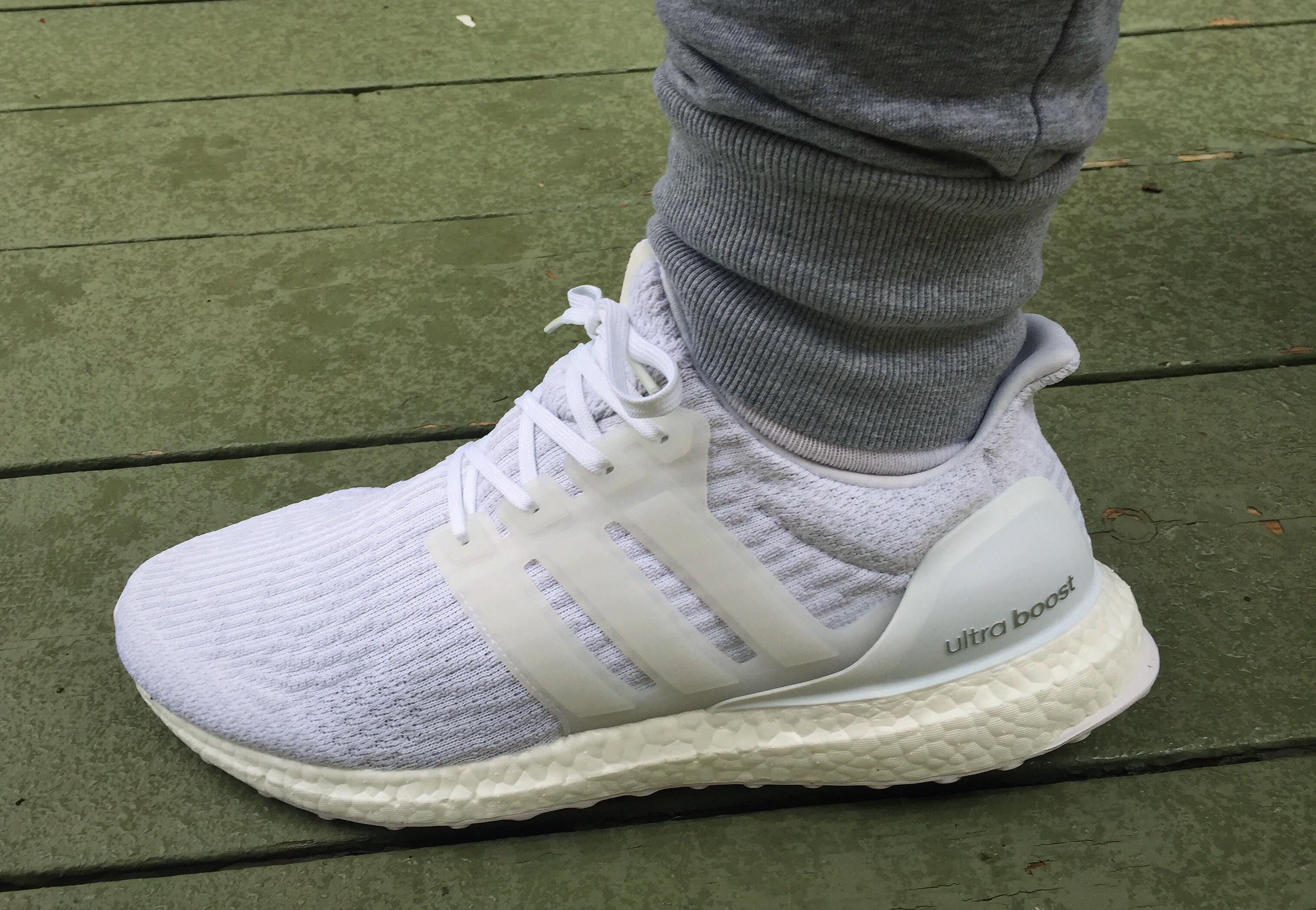 foot. Ultraboost 3.0 \