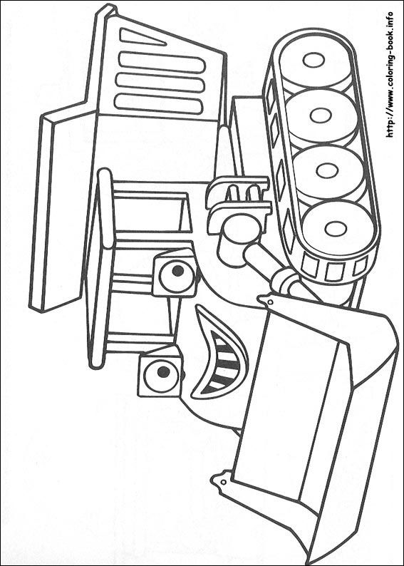 Bob the Builder coloring picture | Kids stuff | Pinterest | Colorear ...