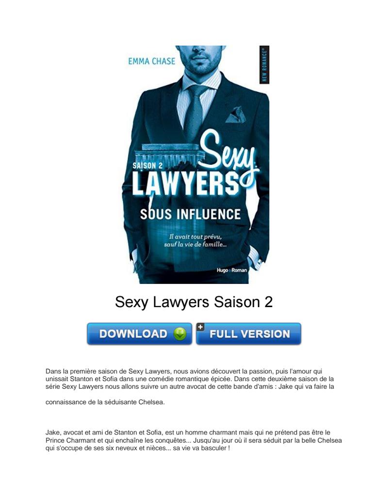 Télécharger Sexy Lawyers Saison 2 PDF   France Books