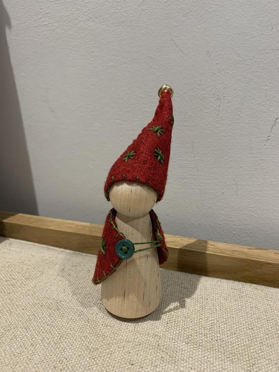 A Waldorf Inspired 'Elf on the Shelf'