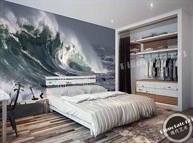 Schlafzimmer-Designs in das Schlafzimmer blicken große keller