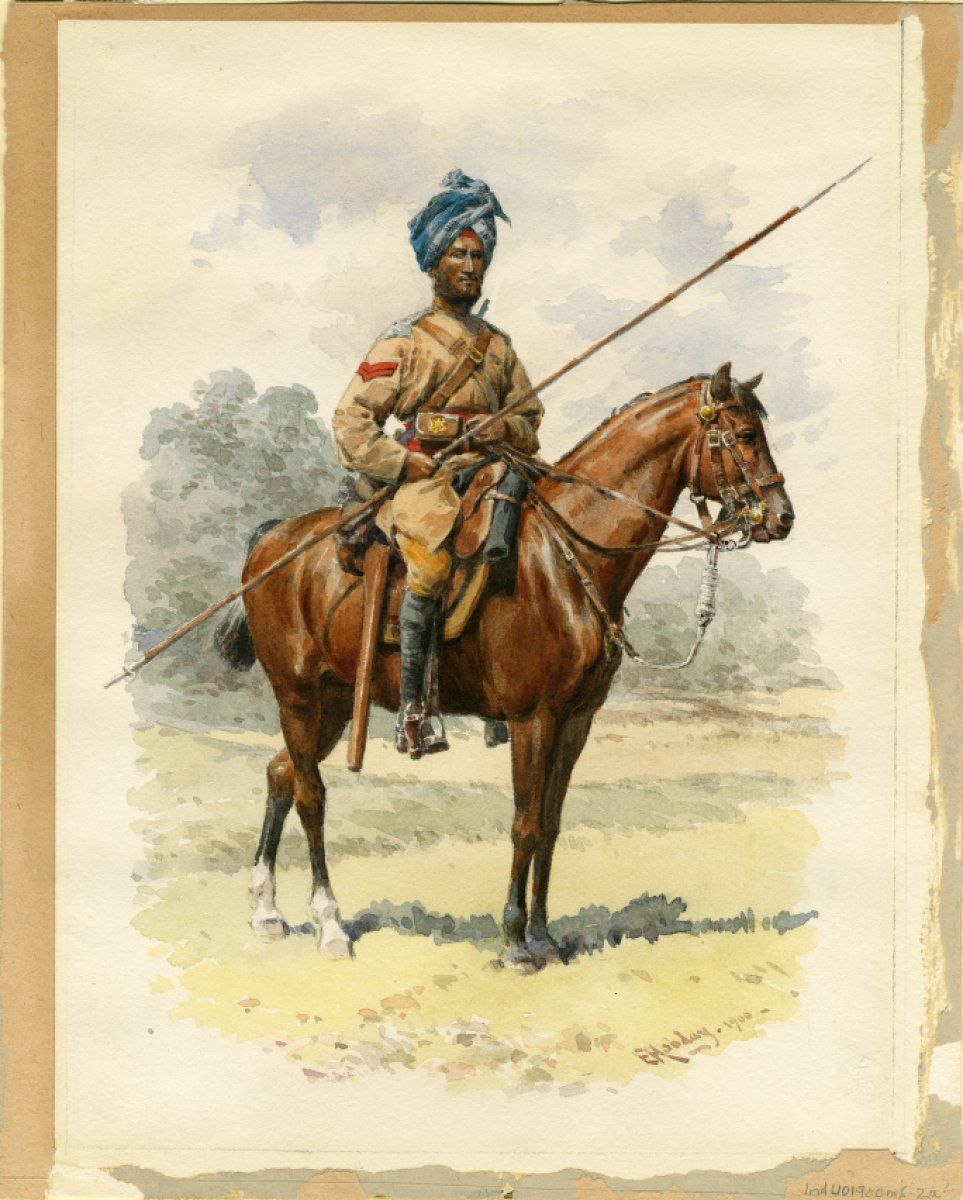 British; 13th Duke of Connaught's Regiment of Bengal Lancers, 1900 by Hobday