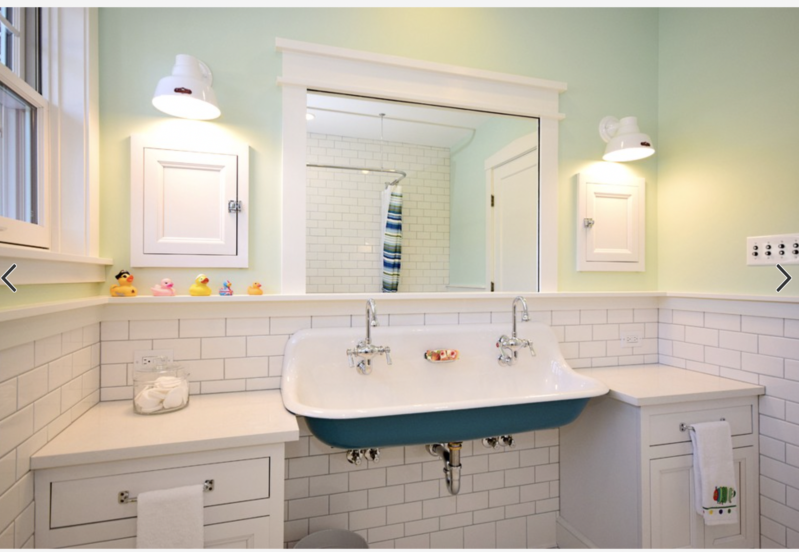 Exactly How I Want To Do The Kiddos Bathroom Sink Can Play And Slop Deep Sink Is Best Ant Traditional Bathroom Bathroom Remodel Cost Bathroom Design Decor
