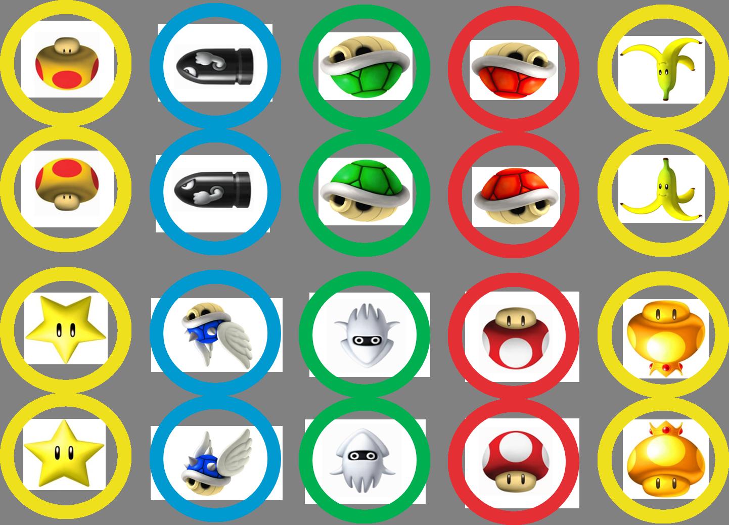 Mario Kart Cupcake Toppers Super Mario Birthday Party Mario