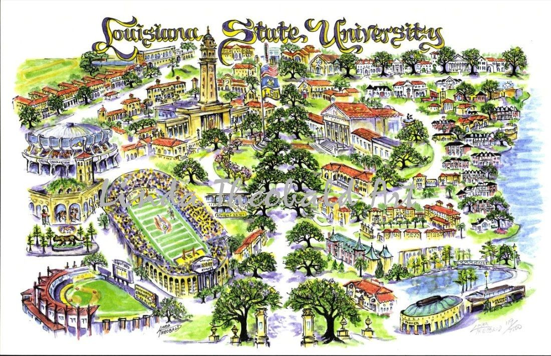 Gallery For Lsu College Campus Map Science Cool Pretty Nerdy