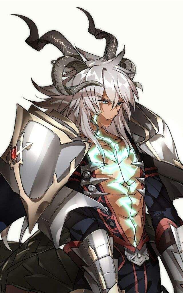 Siegfried Black anime guy