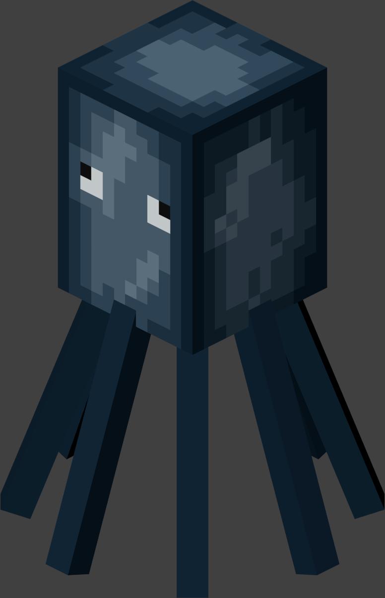 File:Squid.png - Minecraft Wiki  Skins para minecraft, Minecraft