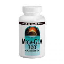 Source Naturals, Mega-Gla 300, 60 Softgels, Diet Suplements 蛇