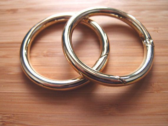 Silver Metal O Rings,22 mm Round ring O rings,Purse ring Round rings,Bag Holder Handbag Purse Bag Clasp for Clothes Bags Belt 30 pcs