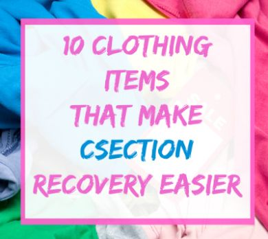 what to wear home after c section