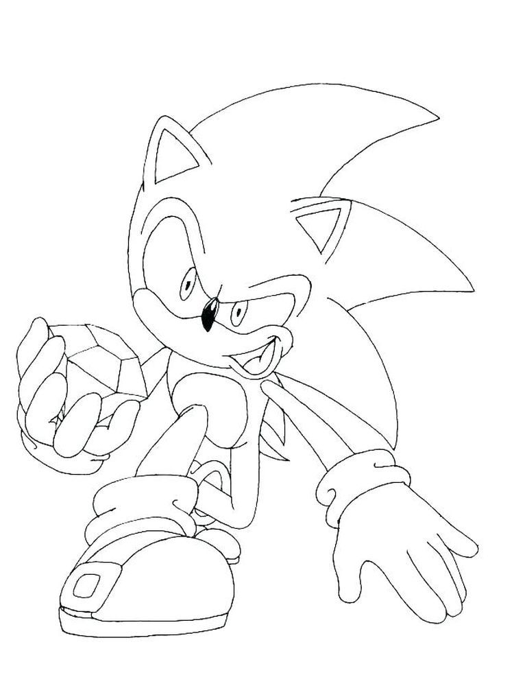 Sonic The Hedgehog Coloring Pages Hedgehog colors