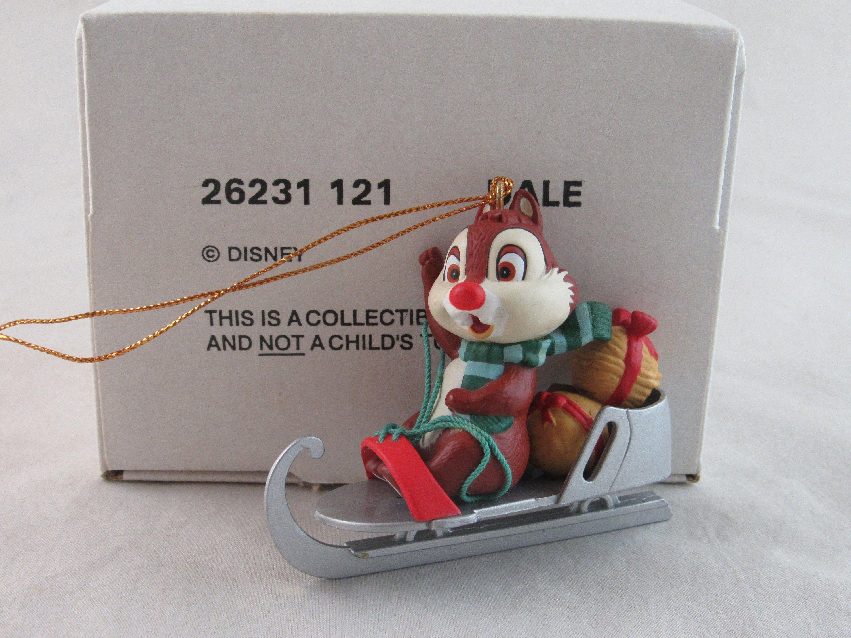 Grolier Disney Dale Christmas Ornament In Box Etsy Disney Christmas Chip And Dale Disney Ornaments