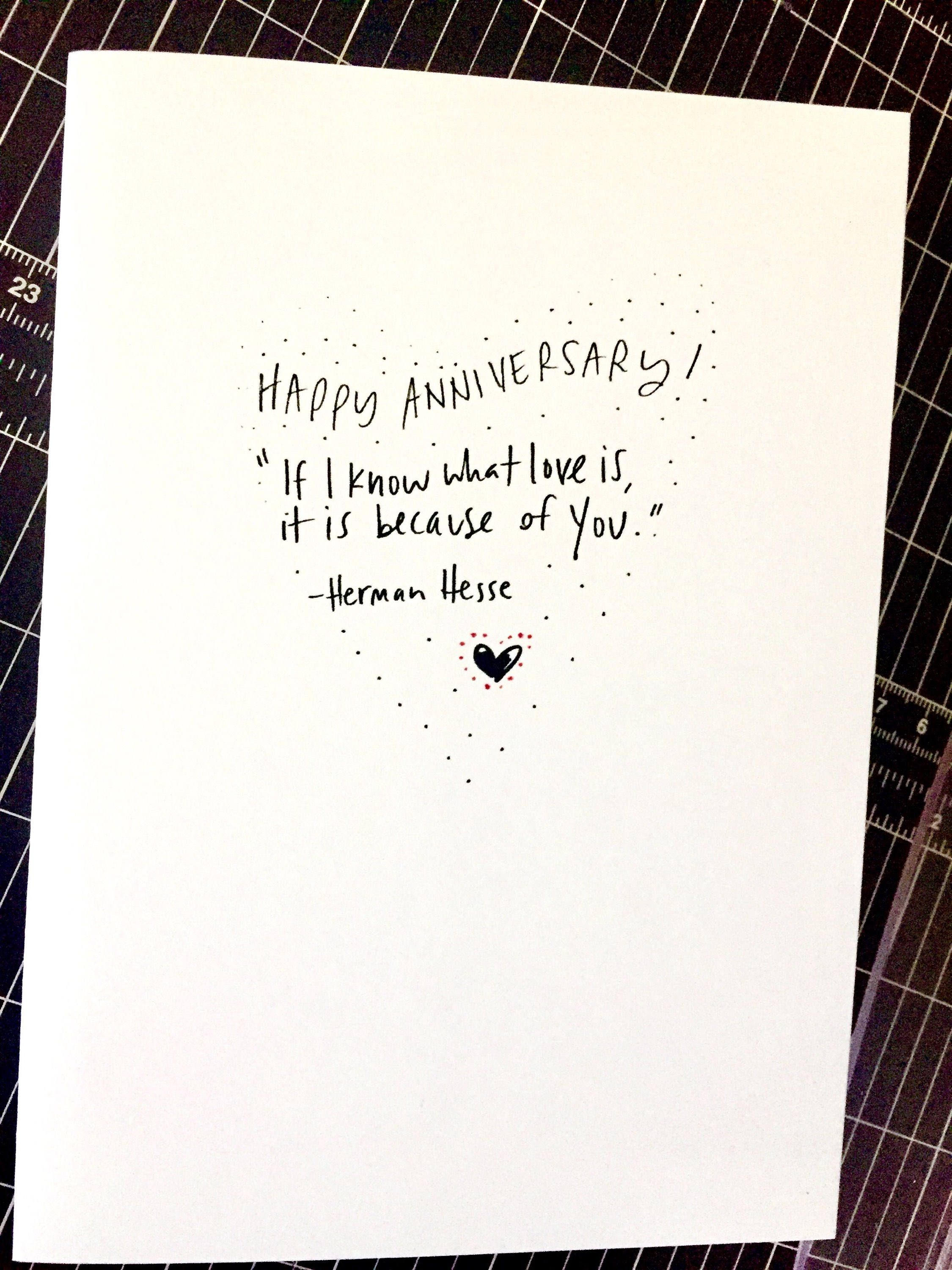 words for anniversary cards
