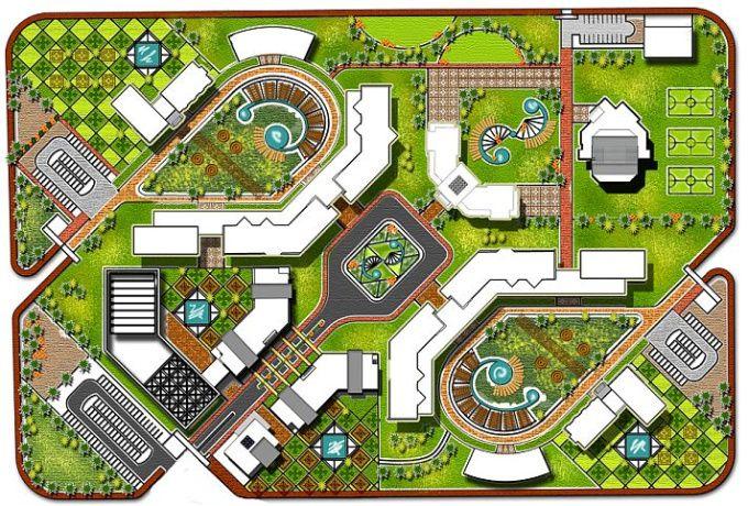 Do Architectural Plan Site Plan And Landscape Design Landscape