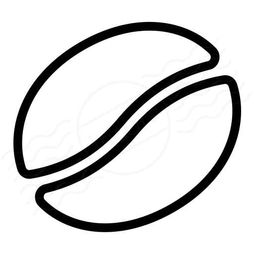 Coffee Bean Icon Vector images   tattoo ideas   Pinterest ...
