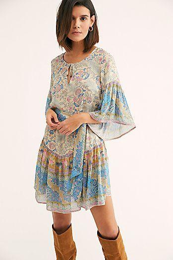 c97c1dc9d381 Oasis Mini Dress | Free People | Dresses, Ruffle shorts, Short dresses