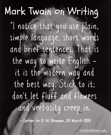The    Best Mark Twain Books Home Famous essay by mark twain