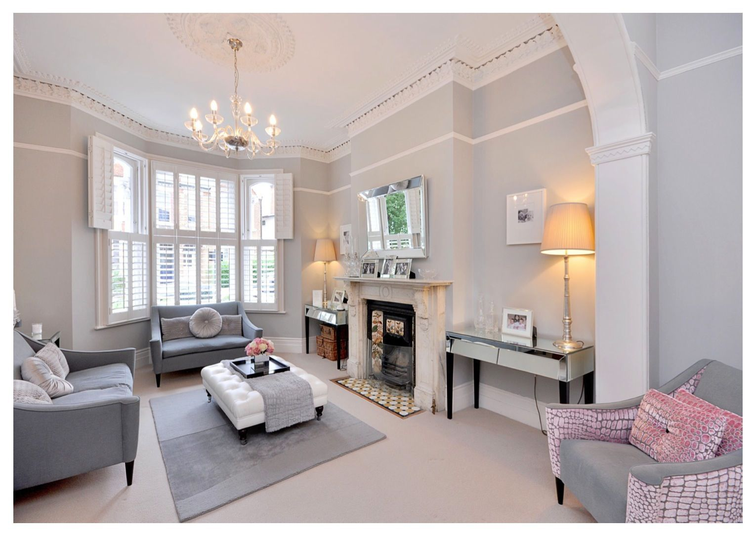 My Home Double Reception Room London Interior Design Living