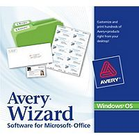 Avery wizard for microsoft office lets you format and print labels avery wizard for microsoft office lets you format and print labels business cards dividers reheart Image collections