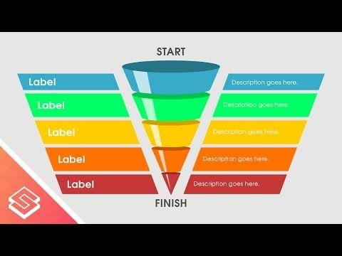 Inkscape Tutorial: Create a Funnel Infographic - YouTube