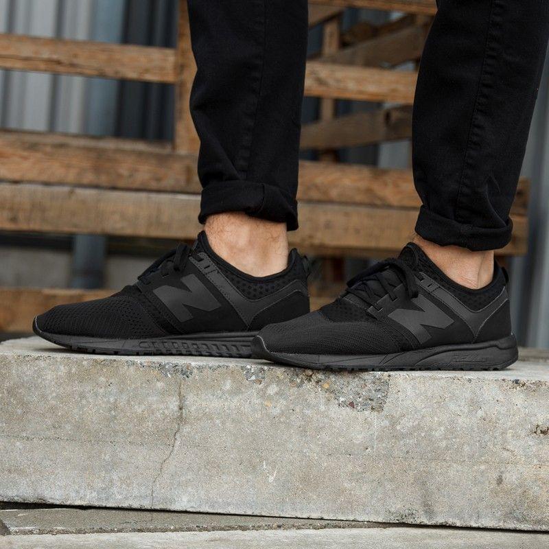 Buty New Balance Mrl247bk All Black Sneakers Black Sneaker Shoes