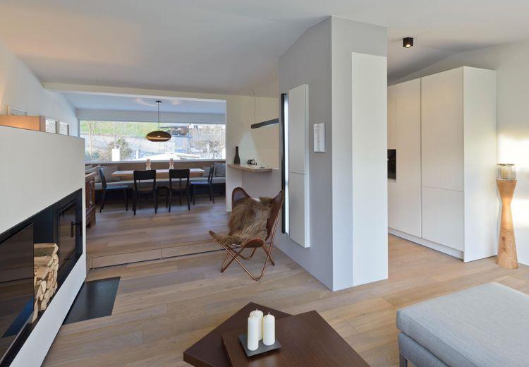 Unser Wohnungsumbau, den wir gemeinsam mit der Firma Hausberger - holz boden und decke modern interieur