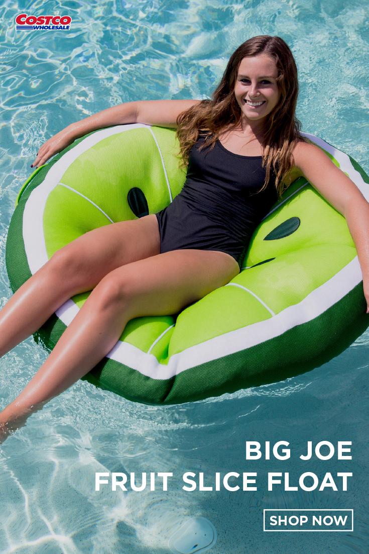 Big Joe Fruit Slice Float Pool Floaties Pool Float Fruit Slice