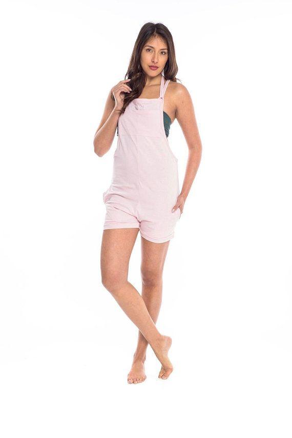 b09d2c23d7 Womens Mini Jumpsuit - Drop Crotch Playsuit Jersey Cotton Yoga Shorts Yoga  Clothes Overalls Romper