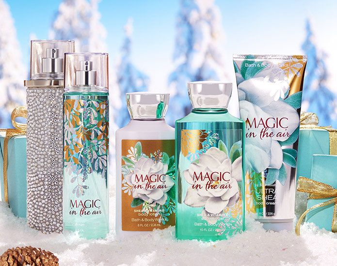 Bath Body Works Magic In The Air Fragrance Collection With