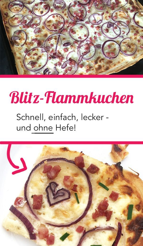 Photo of Quick tarte flambee recipe! ⋆ Moms Blog, the practical family blog!