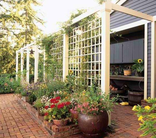 Choisissez un panneau occultant de jardin | Idées de jardin ...