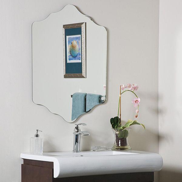 Vandam Frame Less Bathroom Mirror Silver A N Diy