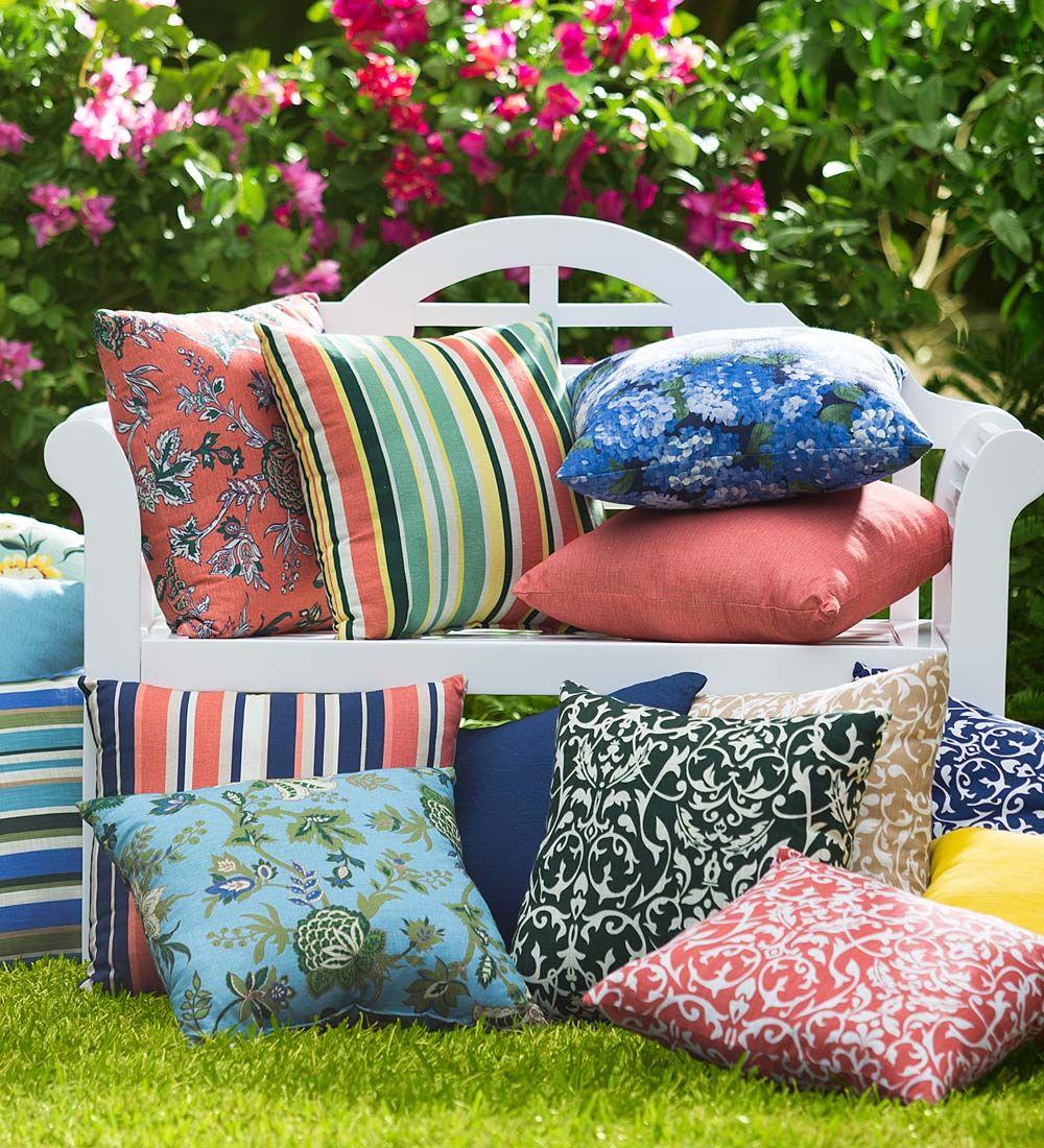 Shenandoah Outdoor Throw Pillow 22 Sq Furniture Cushions