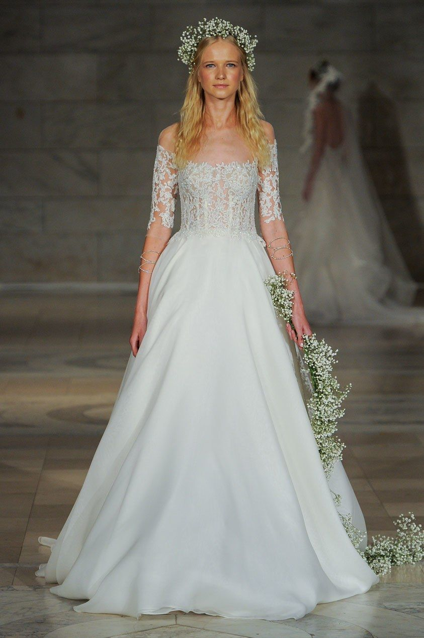 Reem acra bridal fall fashion show reem acra bridal wedding
